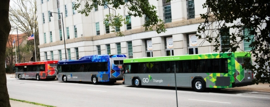Go Triangle new buses
