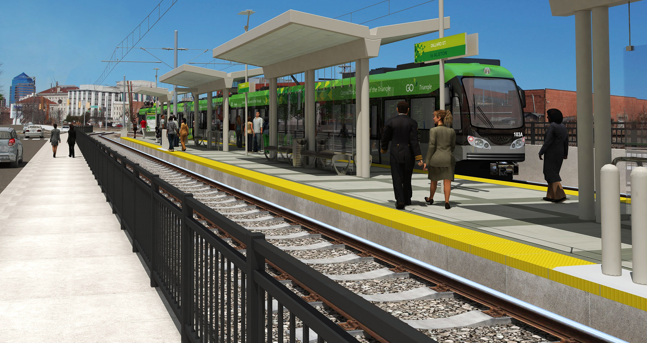 Raleigh-Durham: Light Rail rapid transit-Durham to Chapel ...