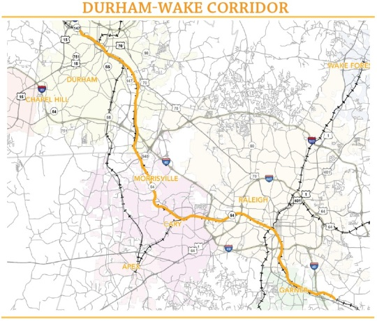 Triangle Transit Durham to Wake