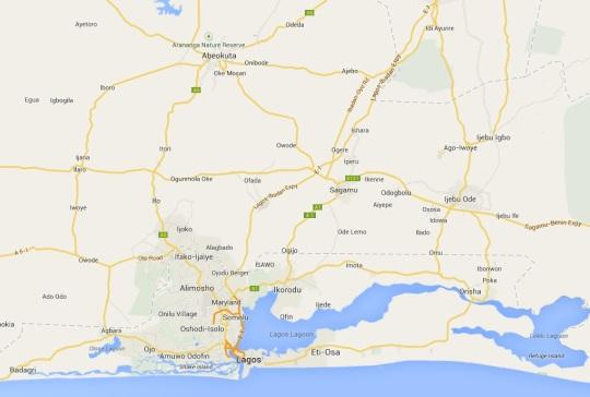 Abeokuta Map