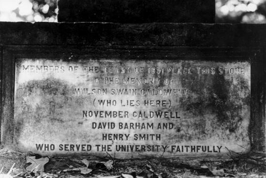Caldwell Monument