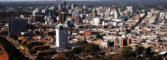 Harare skyline