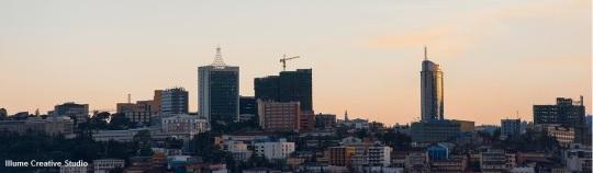 Kigali skyline