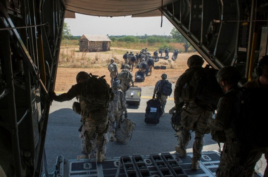 US Troops in South Sudan