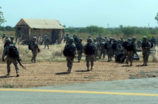 US Troops in South Sudan1