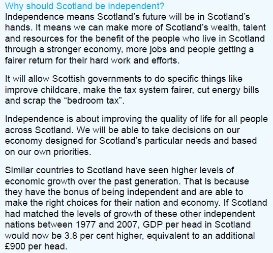 Writing an Essay on Scottish Independence