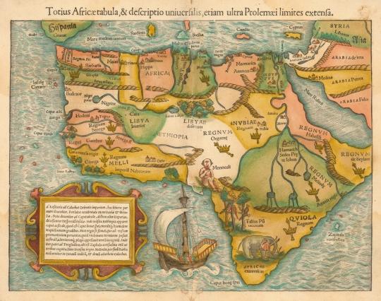 Africa 1554