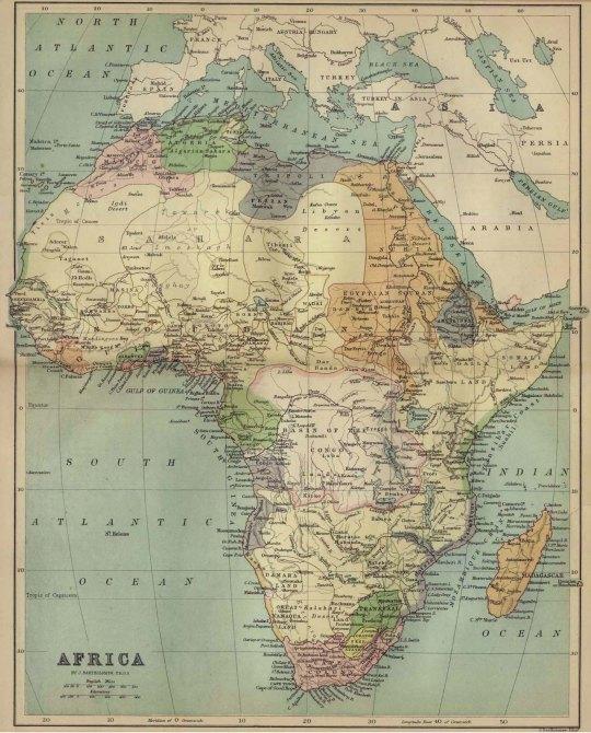 Africa 1885