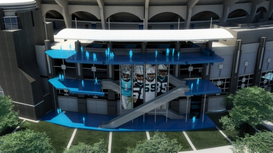 Bank of America Stadium renovation