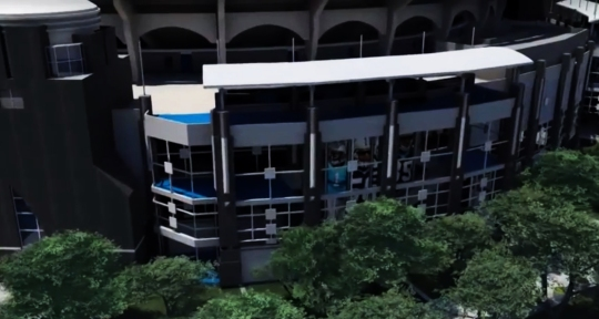 Bank of America Stadium renovation
