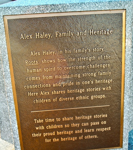 The Kunta Kinte- Alex Haley memorial 01