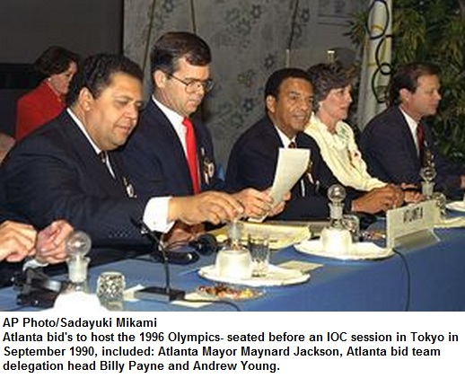 Atlanta Olympic Bid 1990