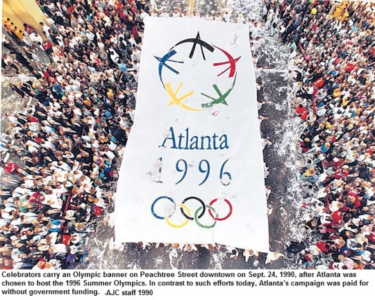 Atlanta Olympic Bid 1990a