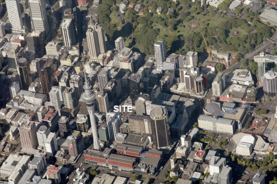 Auckland tower site