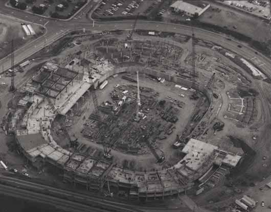 Carolina Panthers Stadium Construction