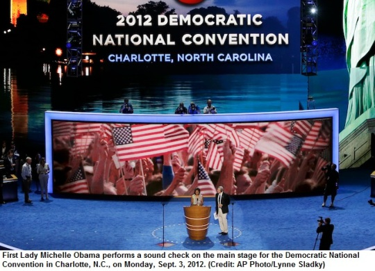 Charlotte DNC 2012