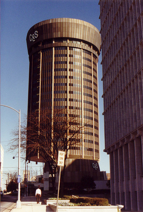 C&S Old Tower seen in 1990