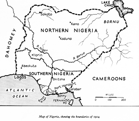 Nigeria 1914