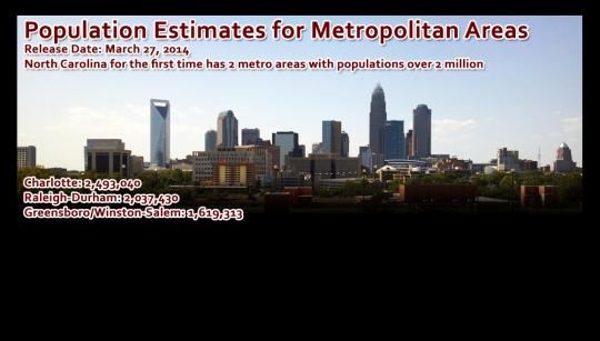 2014 metropolitan population release