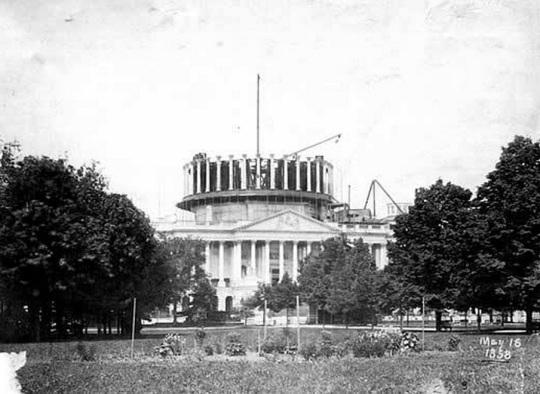 Capitol Building 1858