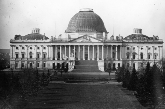 Capitol Building Before New Dome
