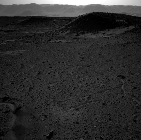 Curiosity's Navigation Camera April 3 2014