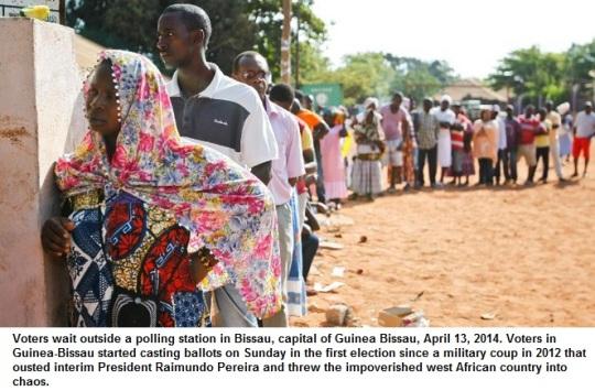Guinea Bissau Voting