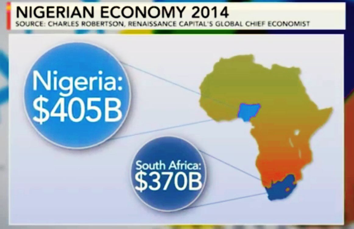 Nigeria Set To Overtake South Africa As Africa S Biggest