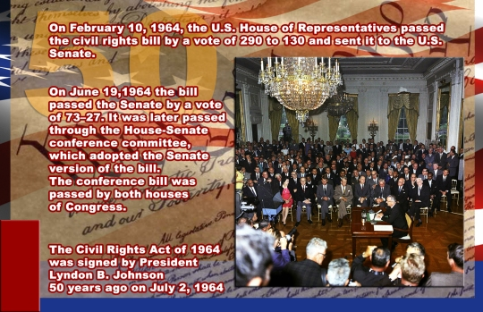Civil Rights Act of 1964 -50 Years