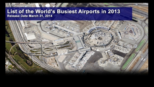 World's Busiest Airports 2013