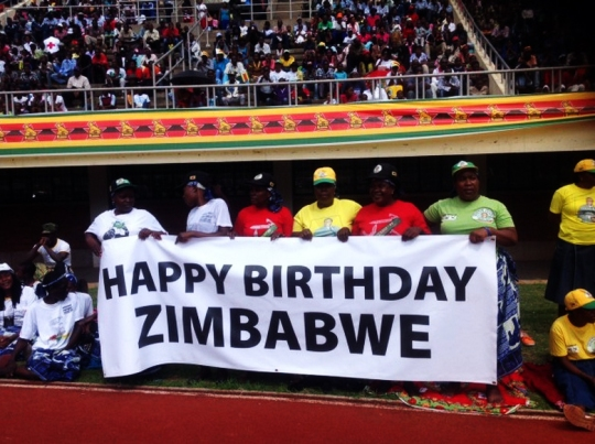 Zimbabwe Independence Day  2014