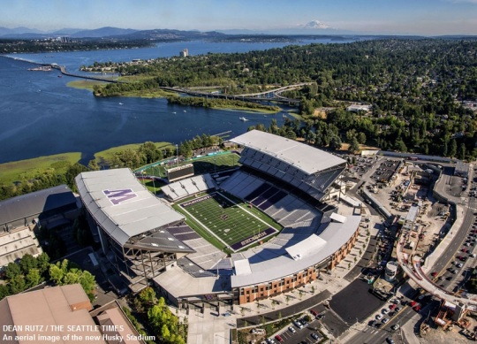 University of Washington Husky Stadium