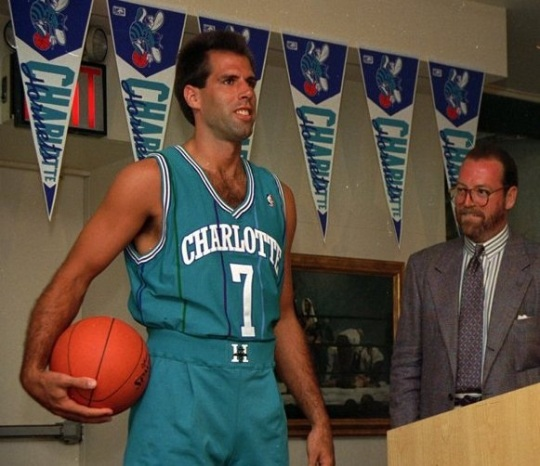 Charlotte Hornets Original Uniforms