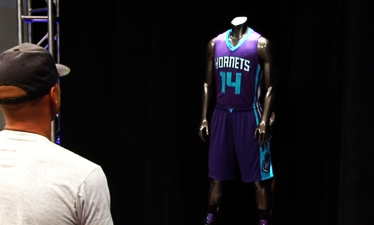 Charlotte Hornets Uniforms players