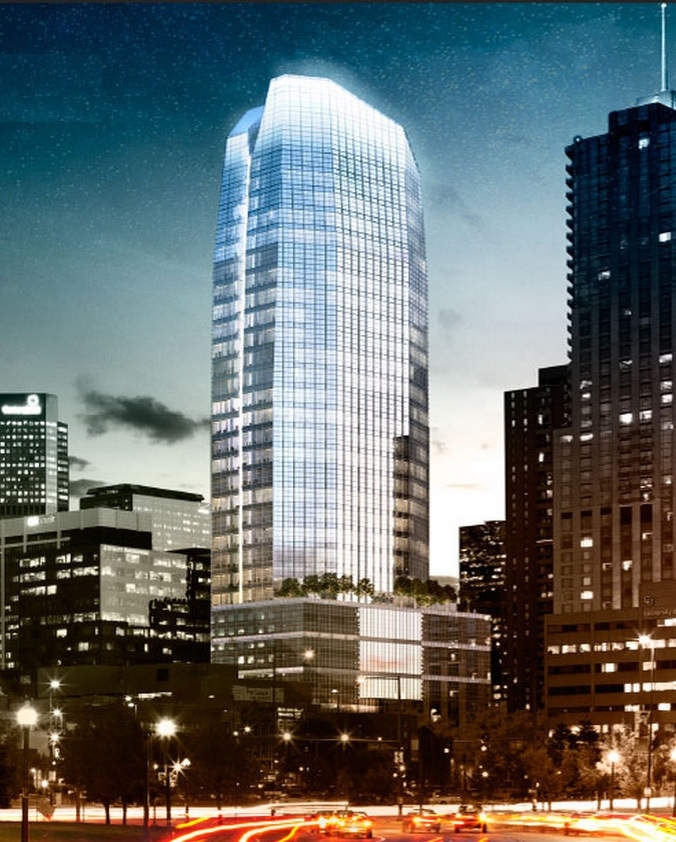 New downtown office tower will be one of denver s tallest buildings