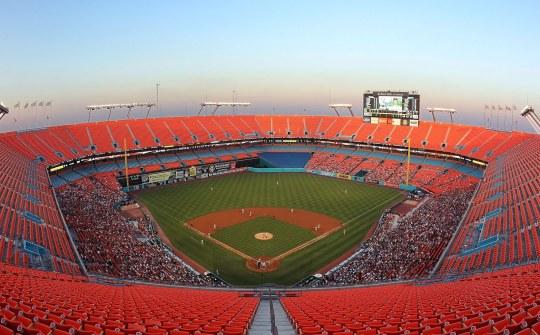 Miami Sun Life Stadium Baseball