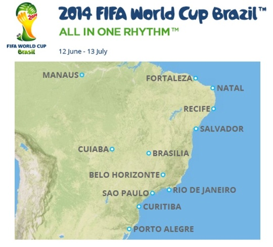 World Cup Cities