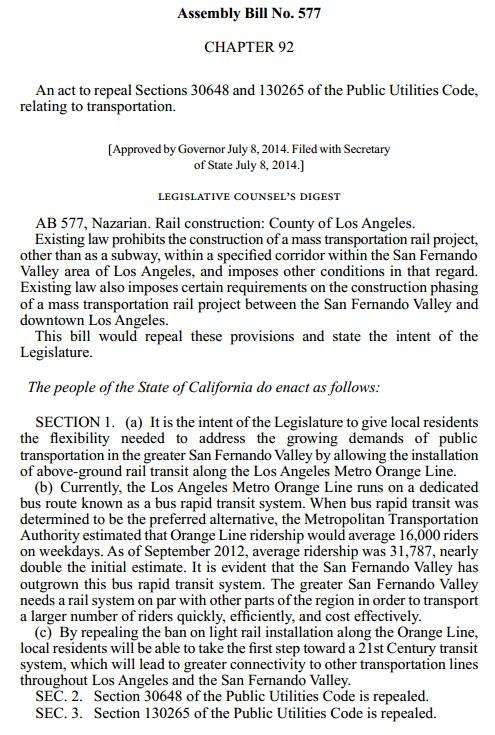 Assembly Bill No. 577