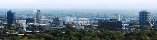 Durham NC Skyline