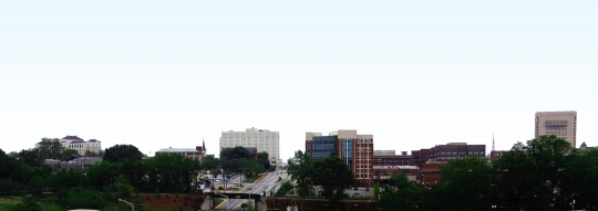 Spartanburg Skyline