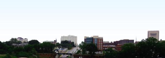 Spartanburg Skyline