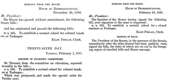 Tuskegee Charter 1880