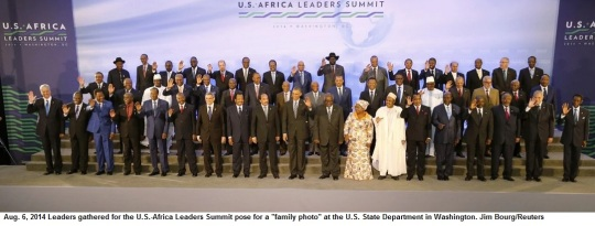 US Africa Leadership Summit 2014