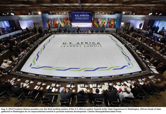 US Africa Leadership Summit 2014