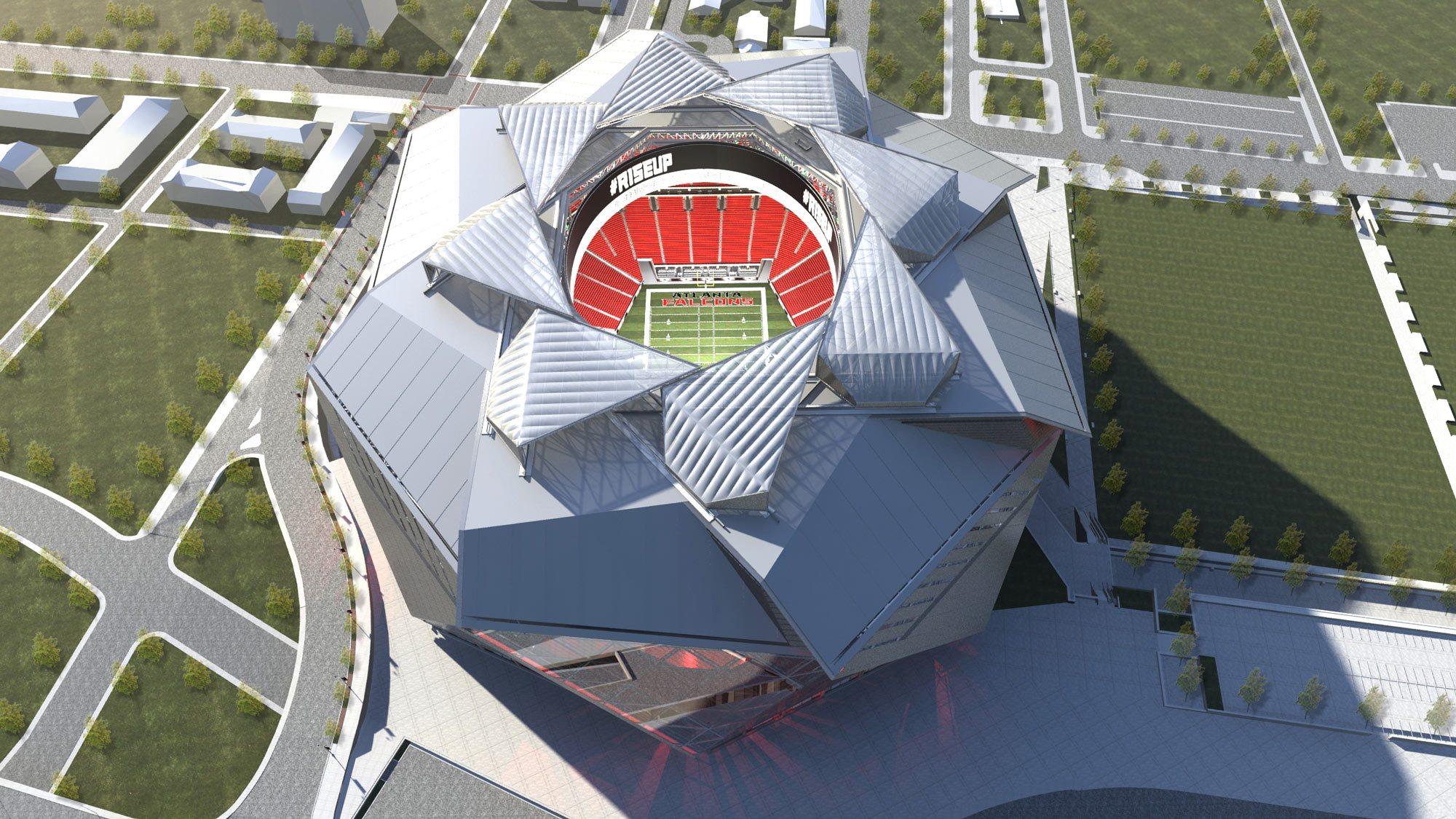 Georgia Dome New Design