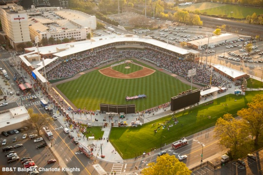 BB&T Ballpark Charlotte Knights