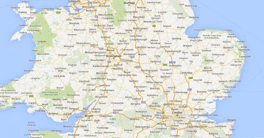 Sheffield Map