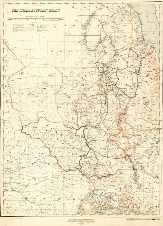 The Anglo-Egyptian Sudan