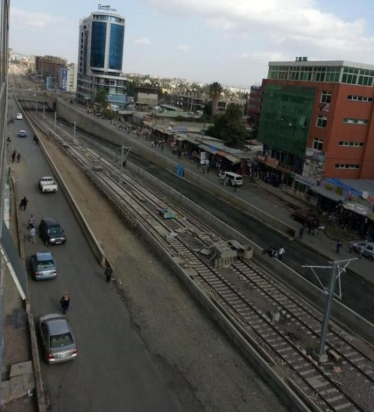 Addis Ababa  Light Rail