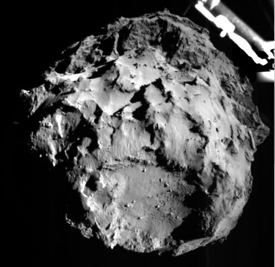 Philae Landing on Comet 67P